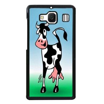 Wheat Pattern Phone Case for XiaoMi RedMi 2 (Black)