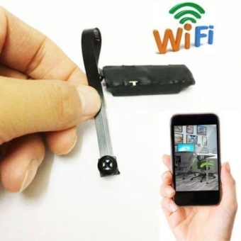 Wifi IP Wireless DIY Module HD Spy Hidden Nanny Video Remote Camera Mini DVR - intl
