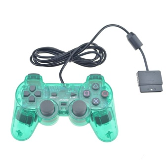 Wired For PS2 Controller Dual Vibration Joystick Gamepad Joypad For PS2 Playstation 2 - intl