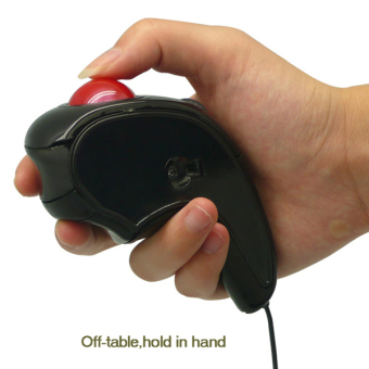 Wired Trackball Mouse