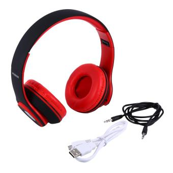 Wireless 4.0 Bluetooth Headset Earphones True HD Stereo Sound SuperBass for Cellphone Black - intl