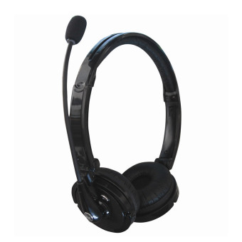 Wireless Anti-noise Technology Stereo Bluetooth Headset (Black)