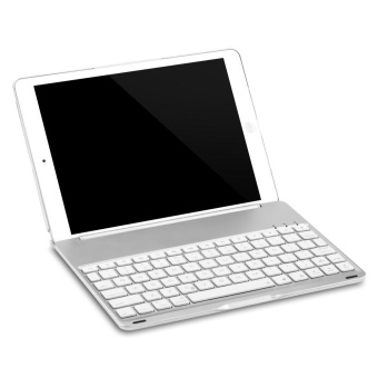 Wireless Bluetooth 3.0 Keyboard Folio Smart Case Cover Auto Sleep with Backlit for New iPad 9.7 inch 2017 ( A1822 / A1823 ) - intl - 5