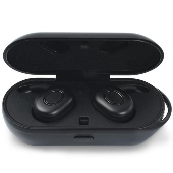 Wireless Earbuds, Bluetooth Earphone Dual V4.1 with Charging Casefor iPhone Samsung HTC and most Android Phones - intl - 2