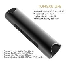 Wireless Earbuds,TONGXU LIFE Mini S2 Portable Bluetooth V4.2 Level IPX7 Waterprof Noise