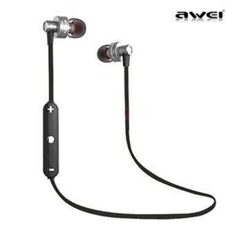 Wireless Sport Bluetooth 4.0 Earphone Stereo Headset Headphone withMic Microphone Sweatproof In-ear Headphone For iPhone Samsung SmartPhones - intl Price Philippines