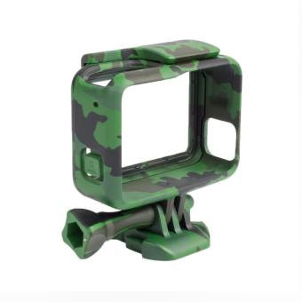 Woodland Camouflage Camera Border Woopower Camera Protection Box Case Military fan For Go pro Hero 5 Accessories GoPro5 - 5