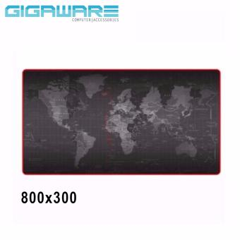 World Map Speed Game Mouse Pad Mat Laptop Gaming Mousepad 800x300