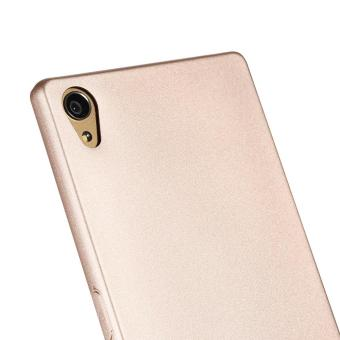 X-LEVEL Guardian Series Matte TPU Cover for Sony Xperia Z5 Premium / Dual - Gold - intl - 5