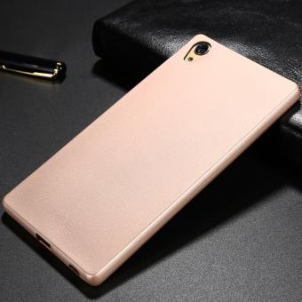 X-LEVEL Guardian Series Matte TPU Cover for Sony Xperia Z5 Premium / Dual - Gold - intl - 3