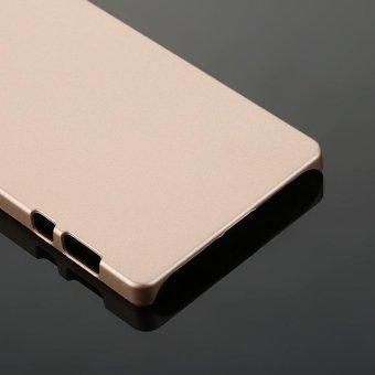 X-LEVEL Metallic Plastic Back Cover for Lenovo Vibe Shot - Gold - intl - 5