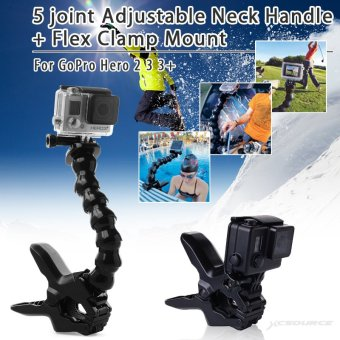 XCSOURCE 5 joint Adjustable Neck Handle for GoPro Hero 2 3 3+ OS176