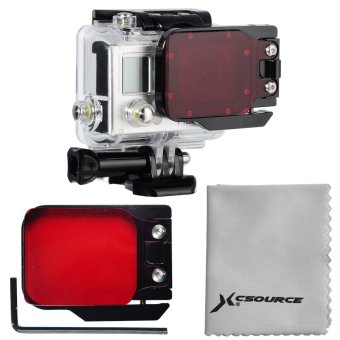 XCSOURCE LF384 Diving Correction Filter for Gopro Hero 3 (Red) - picture 2
