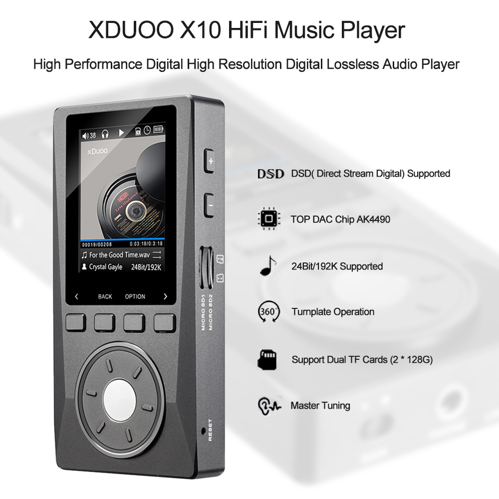 Philippines | Xduoo X10 HiFi Music Player High Resolution Digital