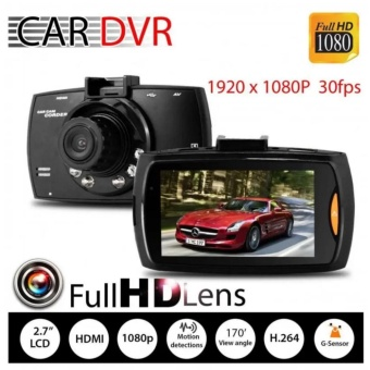 "Xiaocai- G30 Car Cameras + 2.7"" Car Driving Video Recorder Car DvrFhd 1080P Dash Cam Camcorder Night Vision Price Philippines"
