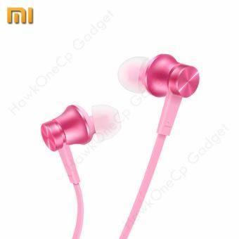 Xiaomi Mi Piston Basic In-Ear Stereo Headphones Earphone with MicEarbud Earphones Headset HSEJ02JY Original / Authentic (Pink) - 2