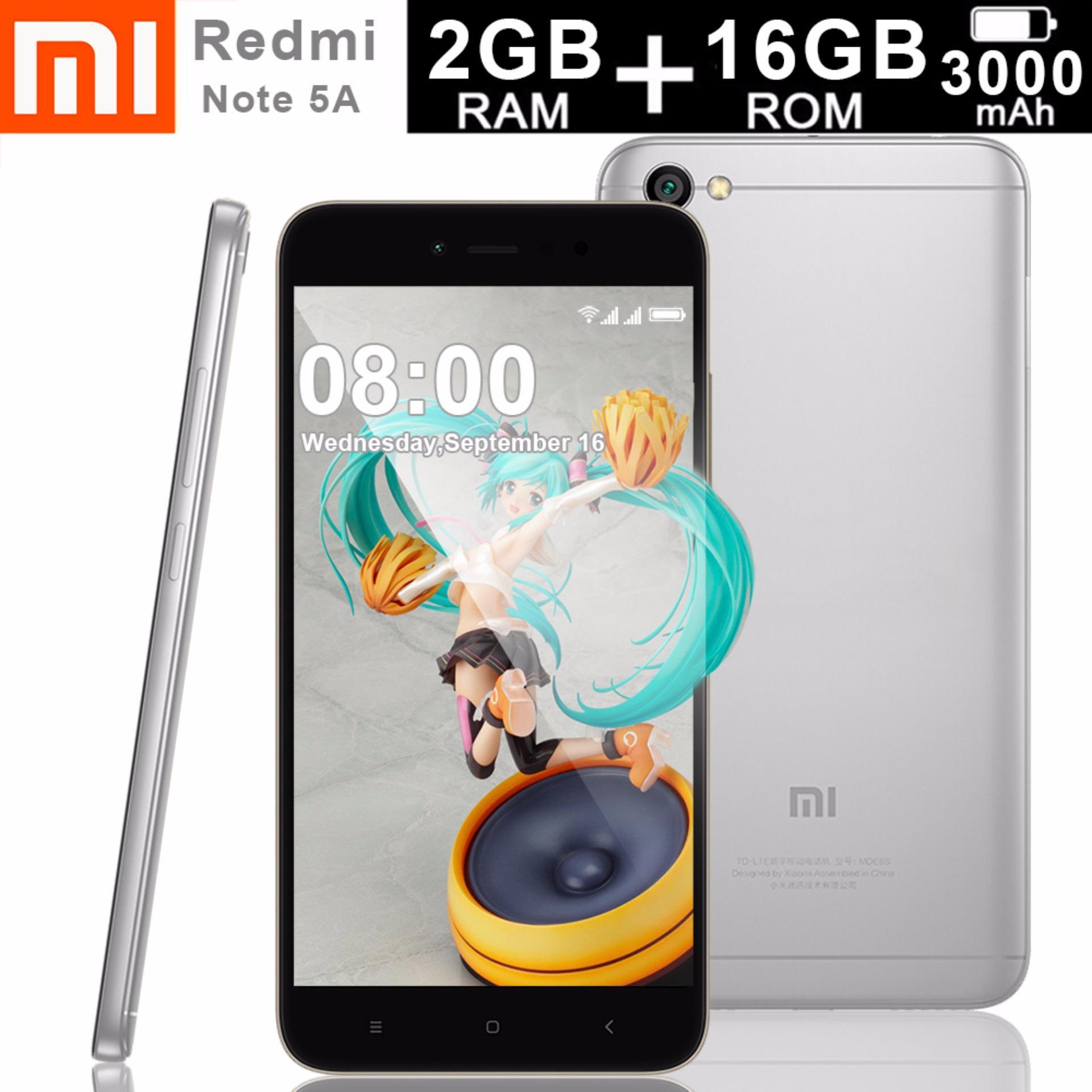 Xiaomi Redmi Note 5a 2gb Ram 16gb Rom Quad Core 14ghz Grey 2 Gb Internal 16 Philippines