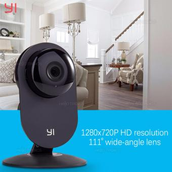 Xiaomi Yi 720P HD Smart WiFi Home IP Camera (Black)