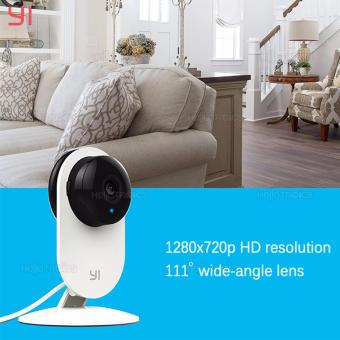 Xiaomi Yi 720P HD Smart WiFi Home IP Camera (White)