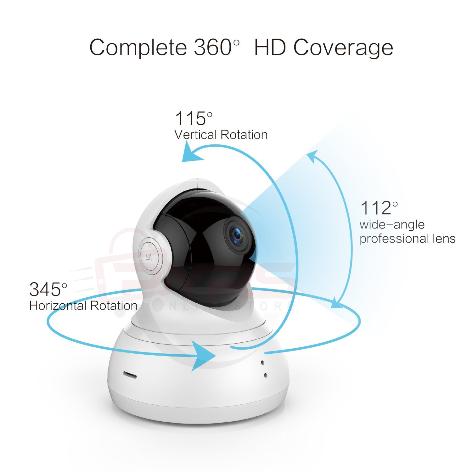 Philippines | Xiaomi Yi Dome Camera 360 Degree IP Security