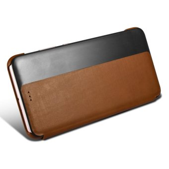 Xoomz Luxury Genuine Leather Case for Huawei P10 Plus Phone CasesSmart Flip Cover Wallet Capa Coque - intl - 5