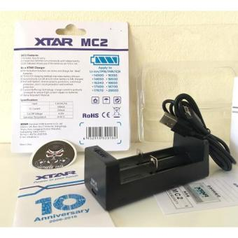 XTAR MC2 original Charger for 14500 16340 17500 18350 18500 1865018700 26650 Li-ion(Without Batteries)