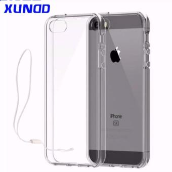 Xundd Ultra Thin Silicone Case With Lanyard For Apple IPhone 5S 5SE