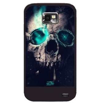 Y&M Cool Skeleton Head Samsung Galaxy S2 Phone Cover (Multicolor)