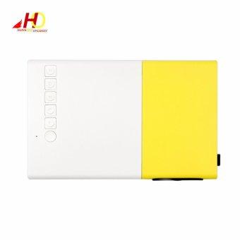 YG300 YG-300 Portable Projector LCD Mini Portable 400 - 600LM 1080PLED Projector Home Cinema Theater USB SD HDMI - 4