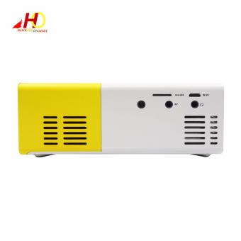 YG300 YG-300 Portable Projector LCD Mini Portable 400 - 600LM 1080PLED Projector Home Cinema Theater USB SD HDMI - 5