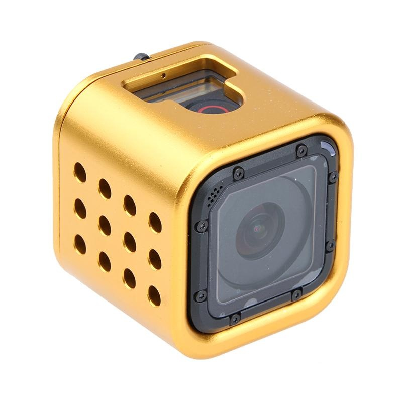 ... Yicoe Aluminum Frame For Gopro Hero 4 Session Action CameraProtective Case with Buckle for Go pro ...