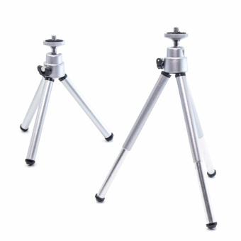 YICOE Mini 150-200mm Aluminum Silver Folding Tripod StandAdjustable Camera Legs Mount For Gopro 5 4 3 SJCAM EKEN XIAOMI YIAction Sport Camera Accessories - 3