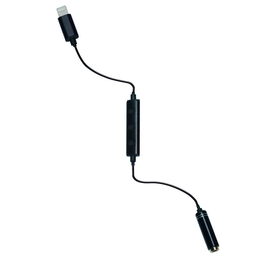 Yika Headphone Adapter For Apple iPhone Recessed Jack 3.5mm Extension Plug (Black) product preview, discount at cheapest price