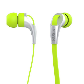 Yison CX330 in-Ear Headphones (Yellow/Green)