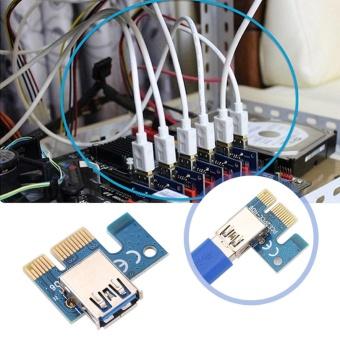 YOSOO PCI-E Express 1x to 16x Graphics Card Riser Adapter - intl - 5