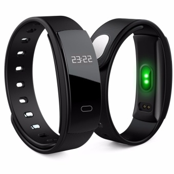 Young Young Star QS80 Wristband Heart Rate Monitor Blood PressureMonitor Smart Watch Sports Reminder Smart Bracelet For IOS AndAndroid - intl Price Philippines