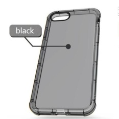 PHP 351. Yunmiao Ultra Slim Transparent Clear Soft TPU Silicon Anti-fall Back Cover Protective ...