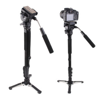 Yunteng VCT-288 Photography Monopod Tripod with Fluid Pan Head andQuick Release for DSLR Cameras