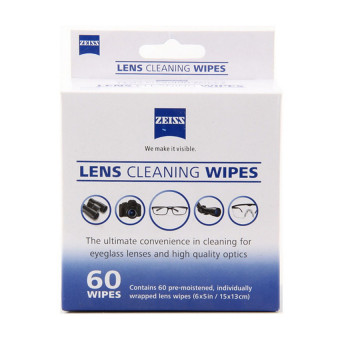 Zeiss Pre-Moistened Lens Screen Optical Camera Cleaning Cloth Wipes60Pcs In Box - 3