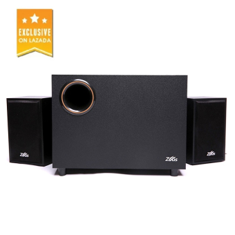 Zeus Z-100 2.1 Multimedia Speaker 3D Sound Surrounded System(Black)
