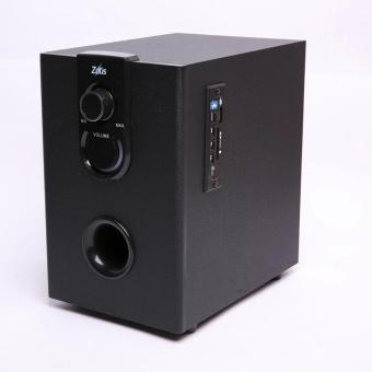 Zeus Z-350 2.1 Multimedia Bluetooth/Wired 2in1 Speaker with SD/USB (Black) - 3