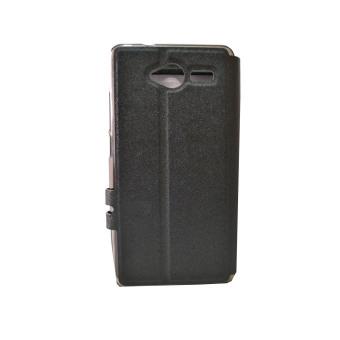 ZTE L3 Leather Case (Black)