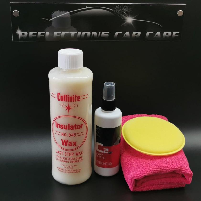 Collinite Liquid Insulator Wax 845 With Free Applicator Towel And Gtechniq C2v3 Liquid Crystal Aftermarket 100ml Lazada Ph