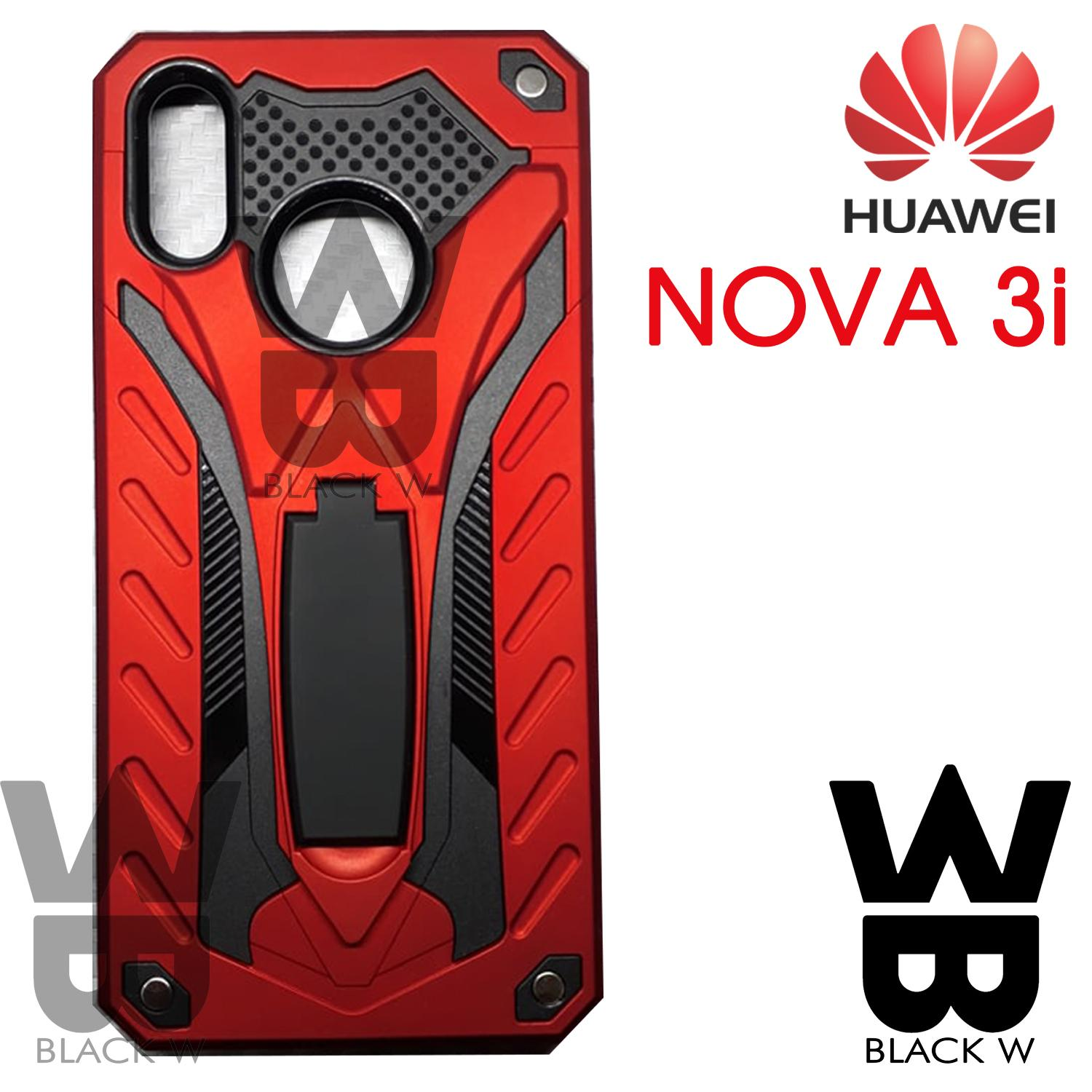 more photos 3c1d6 b169d Huawei Y6 2018 Robot Armor Case with Stand Shockproof Case