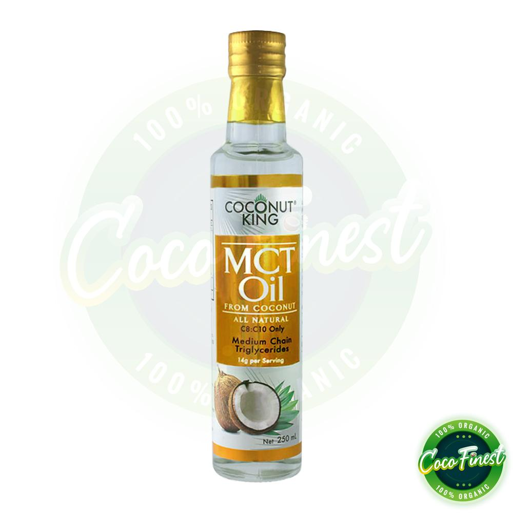 Coconut King Mct Oil 250ml For Perfect Keto Low Carb Bulletproof Diet Organic Coconut Oil Slimfast Drink Best Choice With C8 C10 Lazada Ph