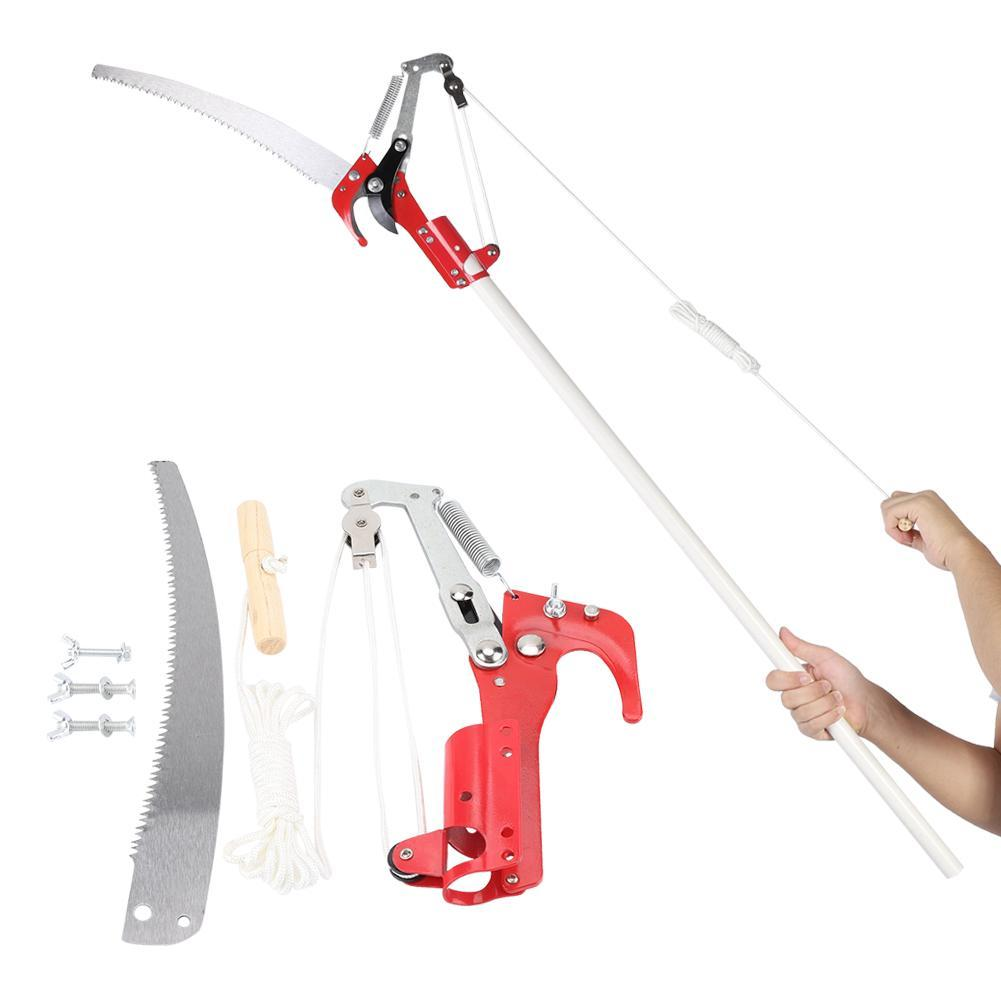 【HOT SALE】Pruning Shears 2 Wheels Sharp Pruning high saws telescopic tree  saws Garden Tools