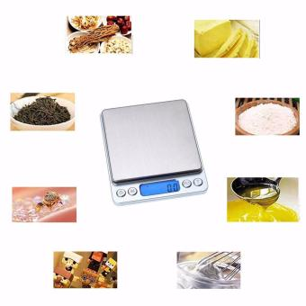 0.01oz/0.1gram 3000g Precise Kitchen Scale Small Digital Electronic Weighing Scale for Baking food and Jewelry - intl - 4