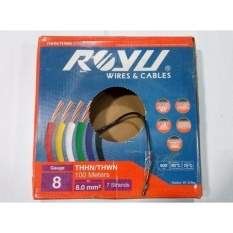 Philippines 1 box royu thhn stranded wire 55mm black with free 1 box royu thhn stranded wire 80mm black with free tire gauge greentooth Image collections