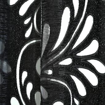 1 PCS Multiple colors ready made semi-blackout blind panel fabricsfor window black - 4