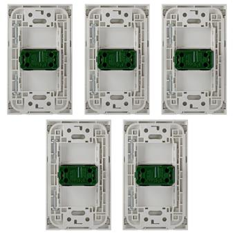 1-Way Stainless Illuminated Switch -SP0-S14-PK-5set - 3